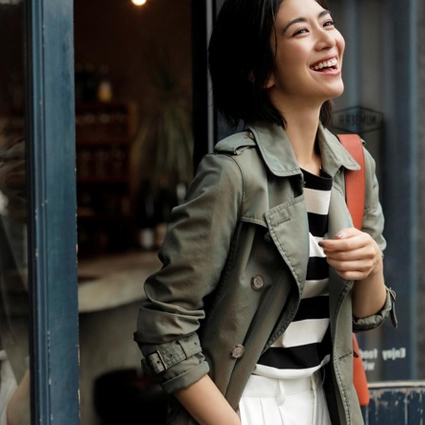 「SANYO Style MAGAZINE」にてWomenの100年コートの新色が紹介されています。
