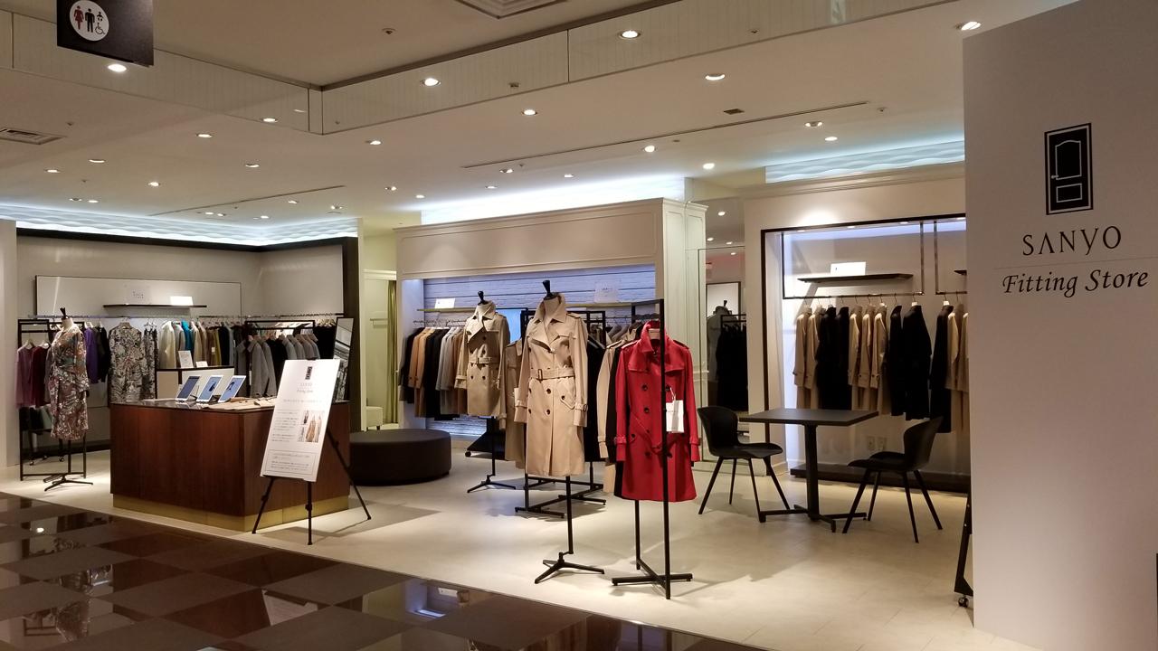 東京大丸にてショールーミングストア『SANYO Fitting Store』が10月21日(水)よりスタート