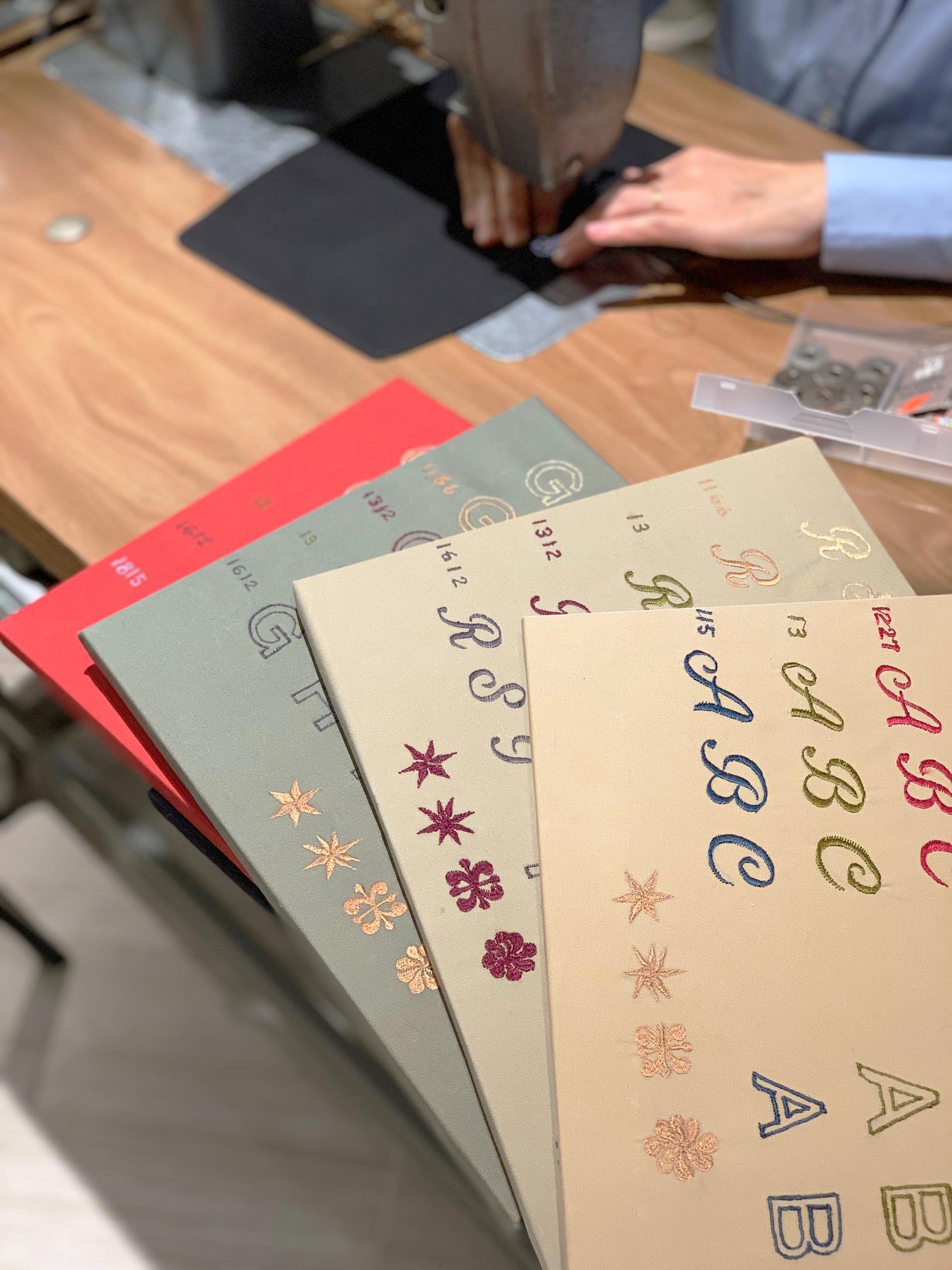GINZA SIX POP-UP STOREにてカスタム刺繍ができる限定イベントを開催