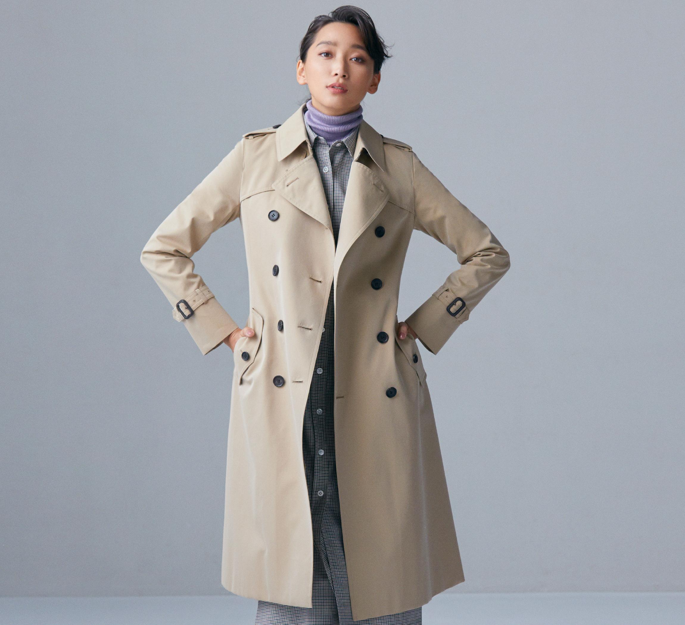 「あたたかいこころ。杏の着るコート」