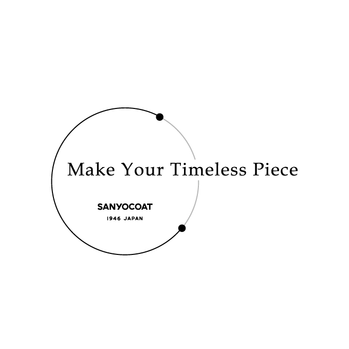 MAKE YOUR TIMELESS PIECE開催のお知らせ [9/8更新]